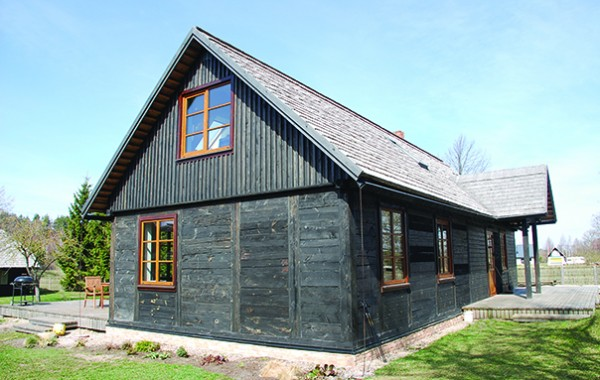 Wooden building reconstruction, privately Jūrmalciemā