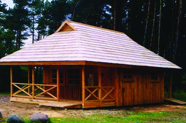 Statņu ēkas būvniecība