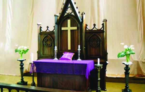 Interjers Liepājas sv. Annas baznīcā