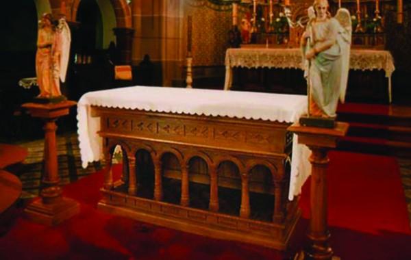 Interjers Liepājas sv. Jāzepa katedrālē
